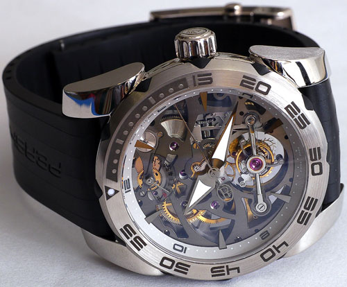 Pershing Openwork Tourbillon